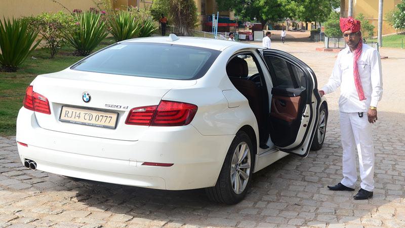 Bmw 5 Series In Jaipur Luxury Car Rental Hire In Jaipur For Wedding